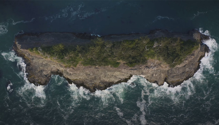 Take a Break From Your Day With This Beautiful Oregon Coast Aerial
