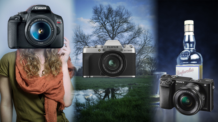 The Best Cameras and Lenses for Beginners for Three Common Types of Photography