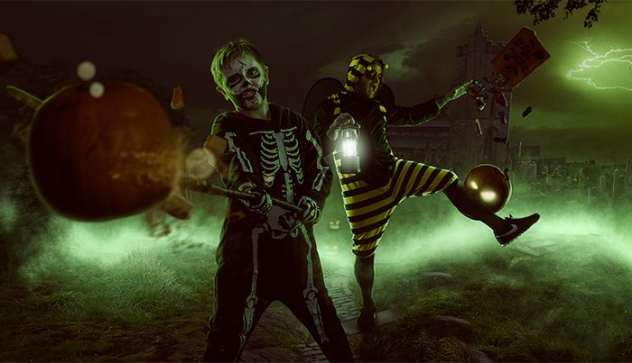 How I Created This Large Halloween Composite in Photoshop