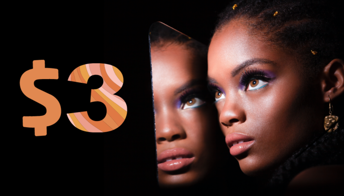 How I Photographed a 70s Beauty Shoot on 3 Dollars
