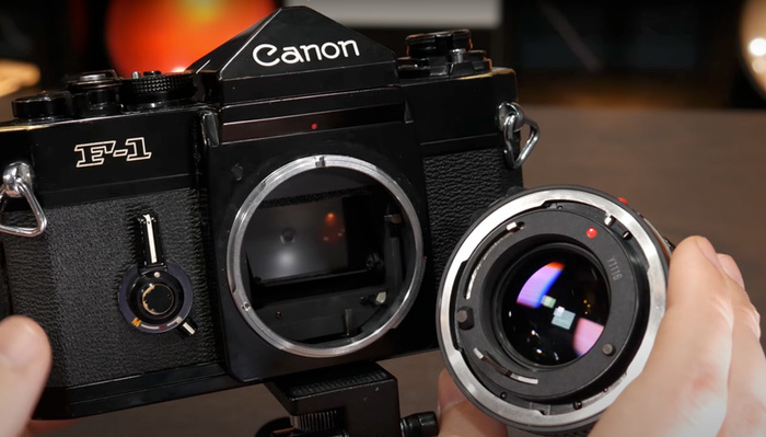 Check Out the Ingenious Design That Went Into the 1971 Canon F-1 and Its Light Meter