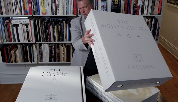 270,000 Images Used To Create This $22,000 Photobook of the Sistine Chapel