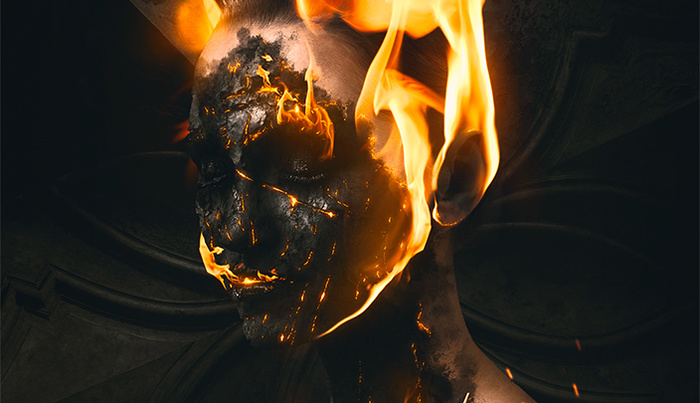 How to Create Burning Effect in Photoshop