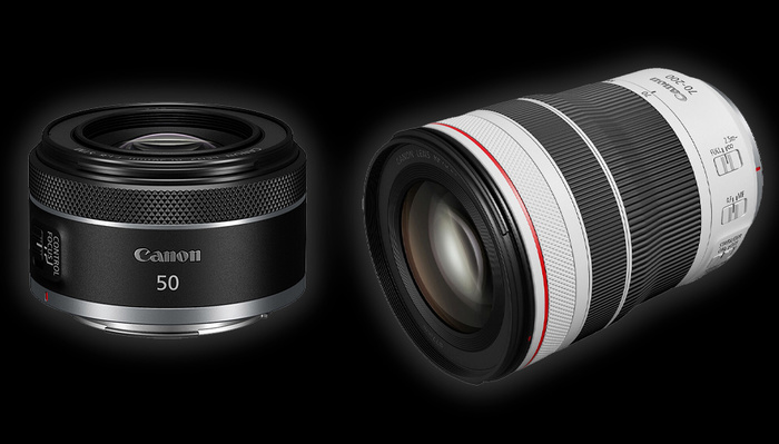 Two New RF Lenses from Canon: a Nifty Fifty and a 70-200mm f/4 L IS