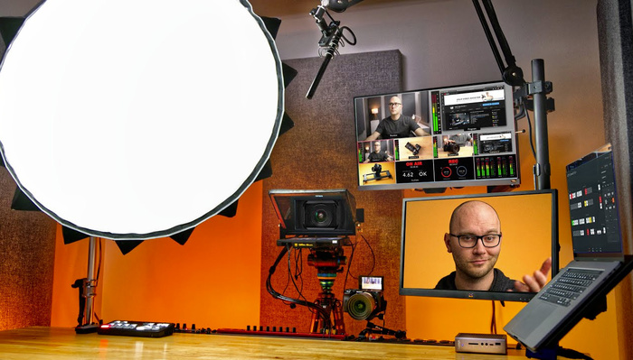 Is This the Ultimate Home Setup for Vlogging and Live Streaming?