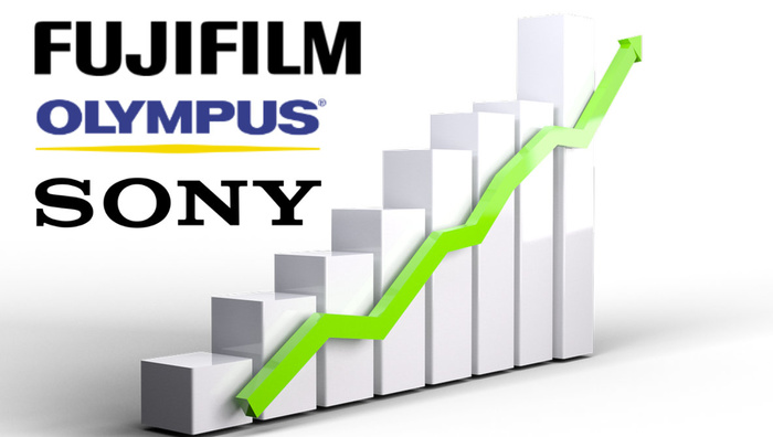 Why Are Sony, Fuji, and Olympus Soaring Ahead?