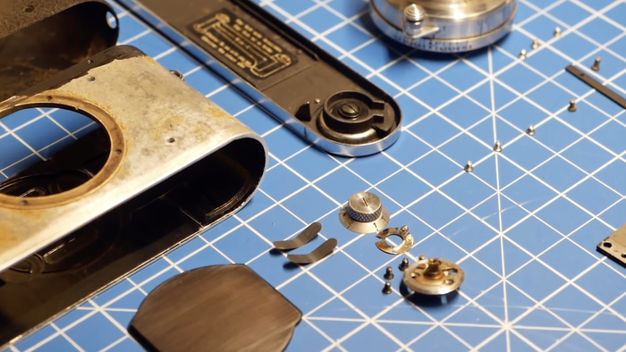 The Process of Restoring a Leica Film Camera
