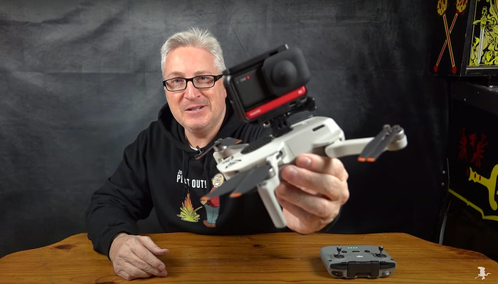 The Fun of Mounting a 360 Camera on a Drone