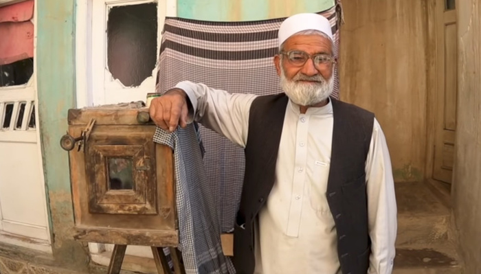 This Photographer Shoots Portraits on a Hundred-Year-Old Camera in Afghanistan
