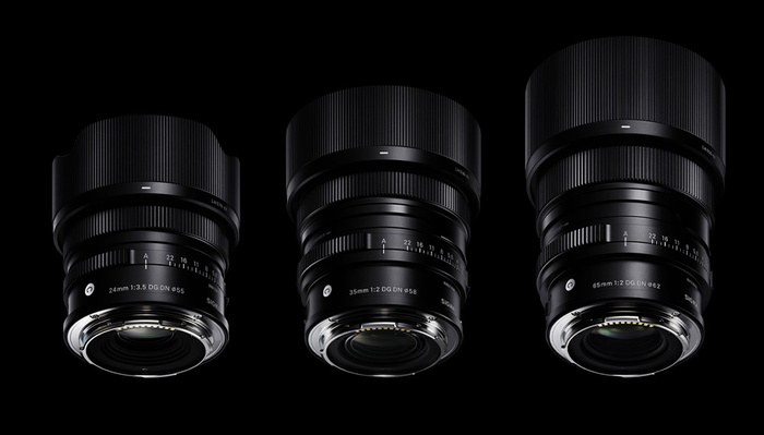 Sigma Announces Three New Compact Primes for E-Mount and L-Mount: 24mm, 35mm, and 65mm