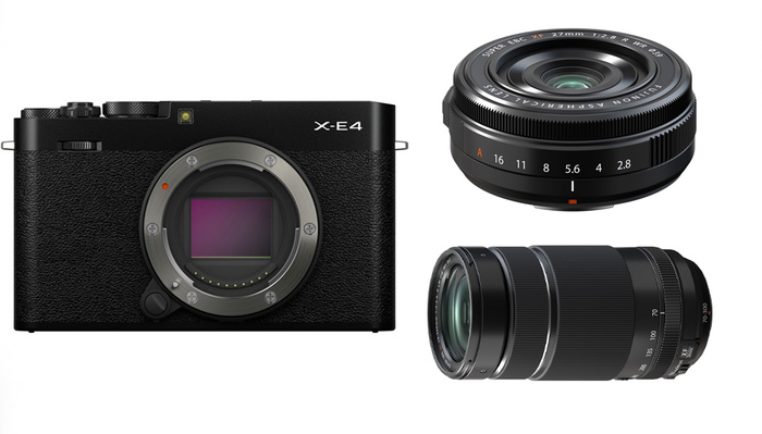 Fujifilm Announces the X-E4 and Two New X Series Lenses