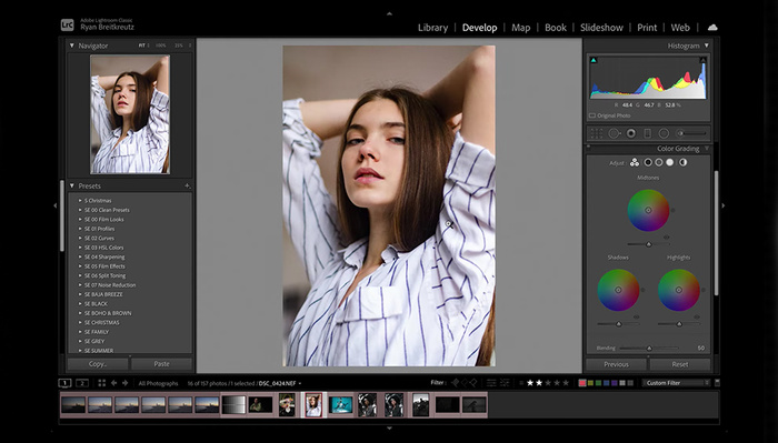 How to Color Grade a Photo in Lightroom