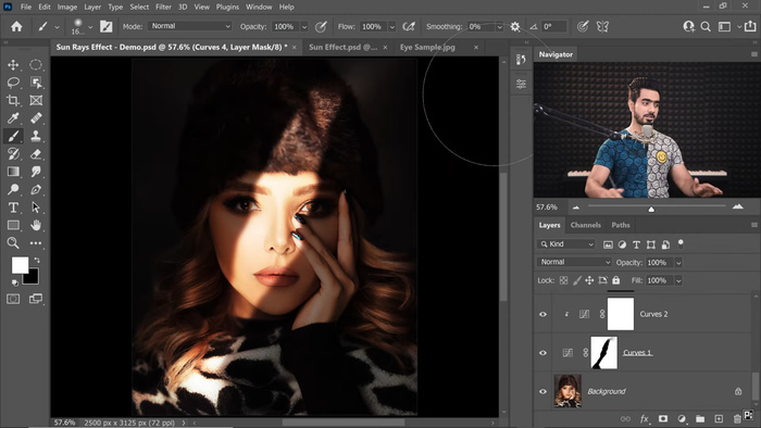 How To Create Sun Rays for Dramatic Portraits in Adobe Photoshop