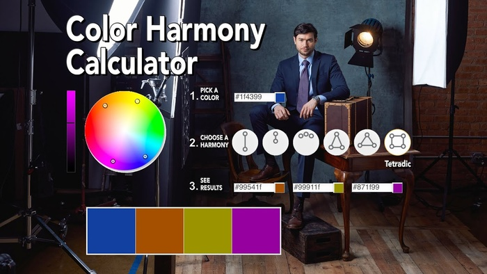 6 Color Harmonies You Must Know