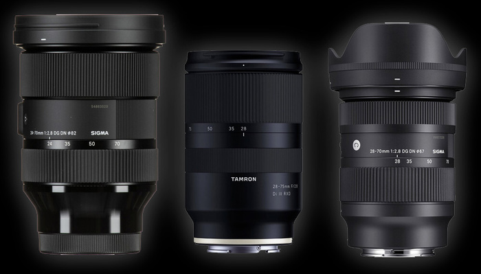 What Is the Best Affordable f/2.8 Standard Zoom for Sony?