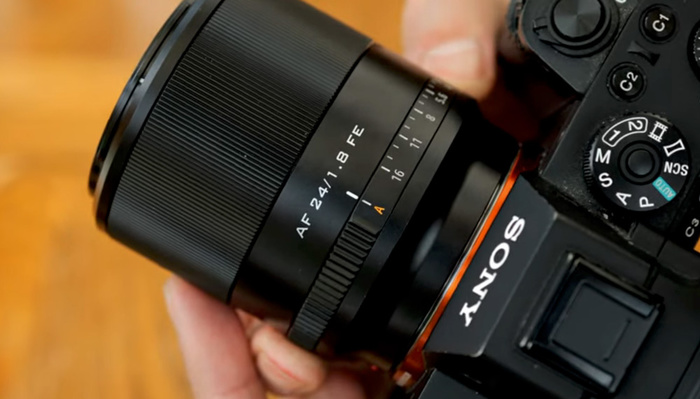 This 24mm f/1.8 Autofocus Lens for Sony Full Frame Cameras Is Only $429