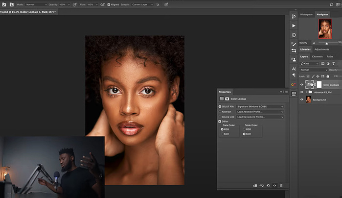 Quick and Easy Retouching Using Frequency Separation in Photoshop Plus Free Actions