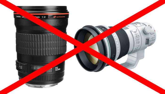 Canon's DSLR Lens Library Is Rapidly Disappearing