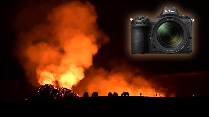 Tips and Tricks for Shooting the Icelandic Volcano at Night