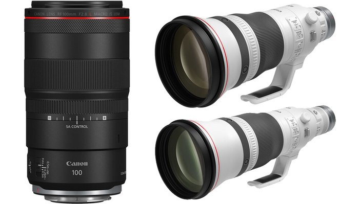 Canon Announces Three New Mirrorless Lenses