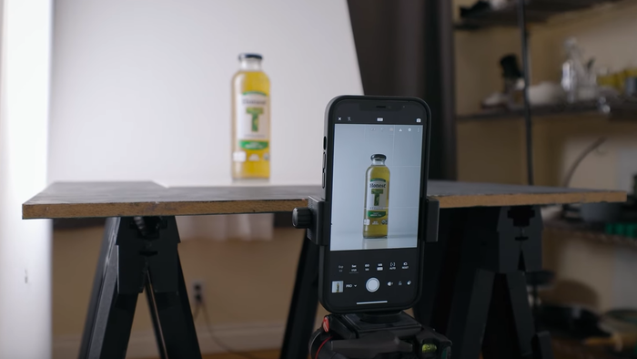 Professional Product Photography Using a Smartphone