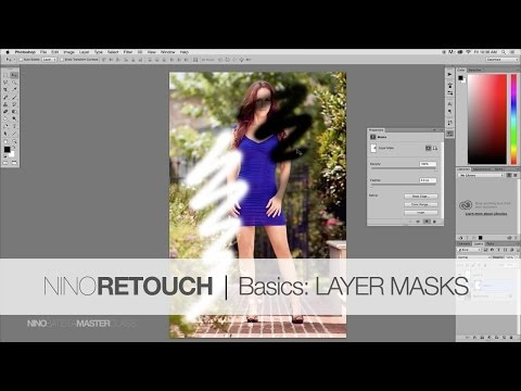 Photoshop Video Tutorial #2: Layer Masks from The Beginners Basics Series