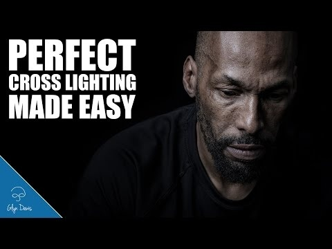 sc 1 st  Fstoppers & How to Create Cross/Rembrandt Lighting Easily   Fstoppers azcodes.com