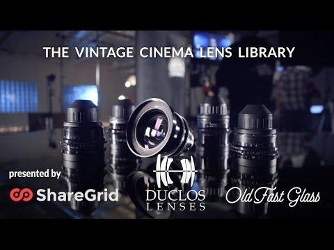 Vintage Cinema Lens Library Is Huge and Mesmerizing