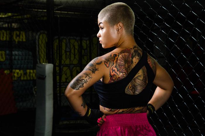 Female Muay Thai