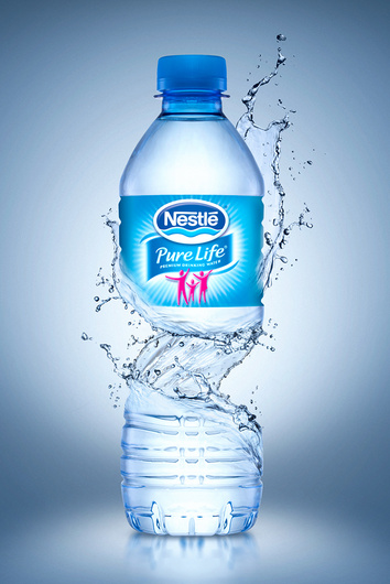 Nestle mineral water