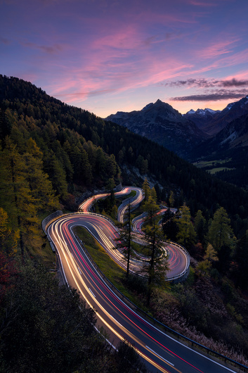 Swiss road