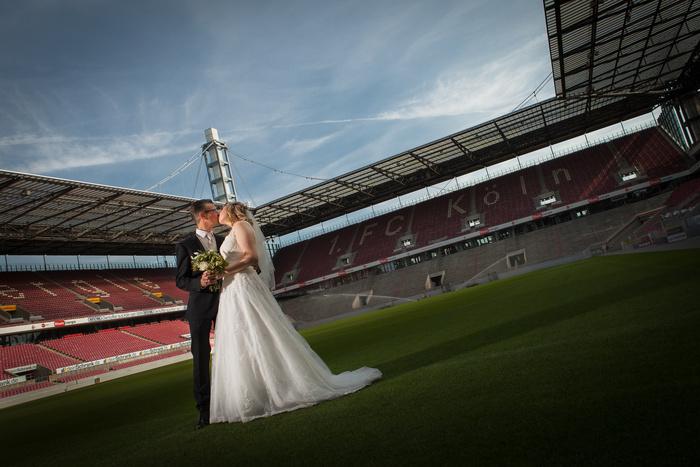 Wedding at Rhein Energie Stadium