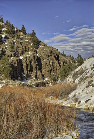 Wolf Creek Canyon Entrance