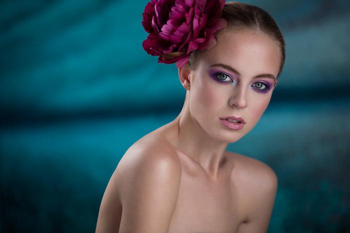 Beauty Headshot For Model Portfolio