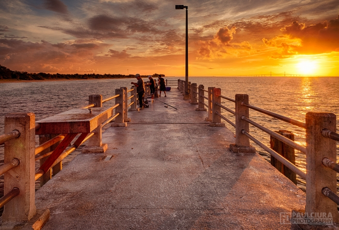 The pier paul ciura on fstoppers for Fort desoto fishing pier
