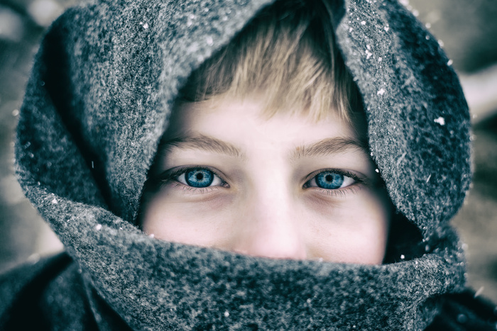 Gavin in the cold