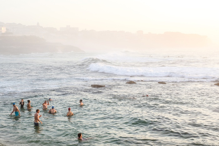 Bronte bathers