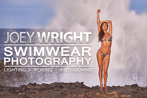 Joey Wright Swimwear Photography Lighting Posing And Retouching