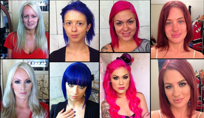 Pornstars Before And After Makeup  Fstoppers-4228