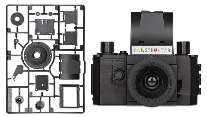 Hipsters Rejoice! A Build-It-Yourself Plastic Camera