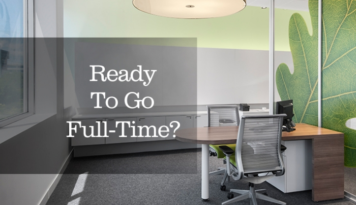 5 Things To Consider Before You Go Full Time
