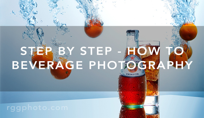The Making Of A Commercial Beverage Image | Step By Step
