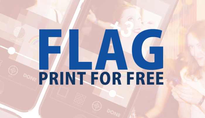 Print Your Photos For Free With The Simple 'Flag' App