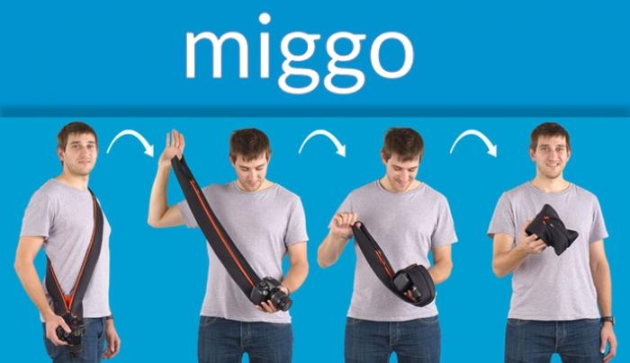 Miggo: Camera Strap That Morphs Into a Camera Case
