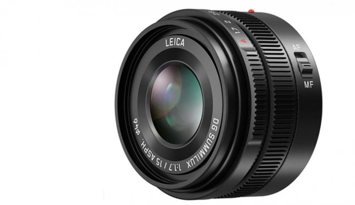 Panasonic Announces New f/1.7 15mm Lens