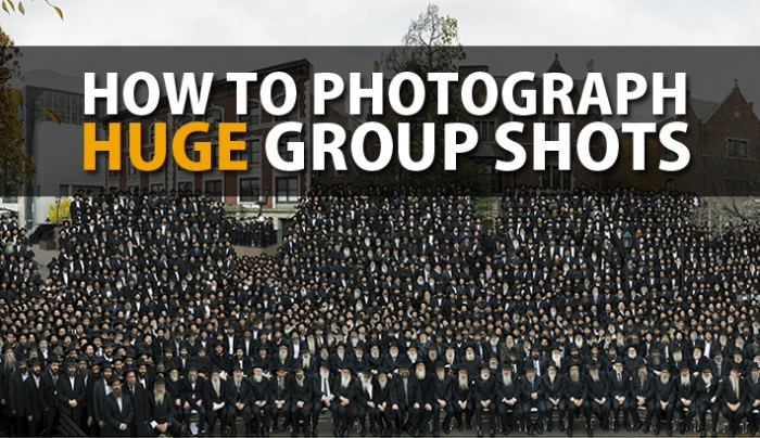 How To Pose And Photograph a Huge Group Shot With Thousands Of People