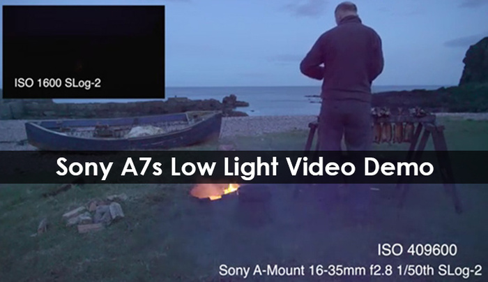 Astonishing Sony A7s Low Light Video Demo
