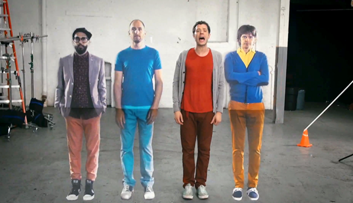 OK Go Creates Its Most Mesmerizing Music Video Yet, All with Practical Effects
