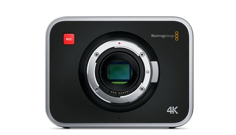 Blackmagic Production Camera 4K Firmware Update: Histogram, Peak Audio & Recording Time Added