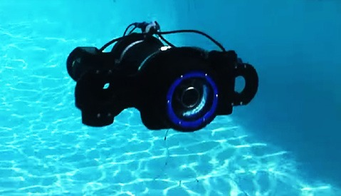 Photographers Build DIY Remote Controlled Submarine To Film Hippos Underwater